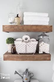 Shelves In Bathrooms Ideas Bathroom Shelves Lightandwiregallery