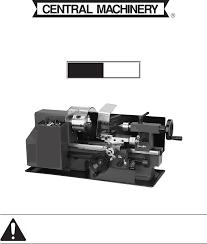 100 7 in x 10 in precision benchtop mini lathe lathe metal