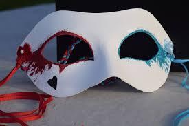 harley quinn masquerade mask party mas mardi gras mask