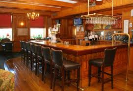 the inviting bar in the tavern at the hawthorne with the most