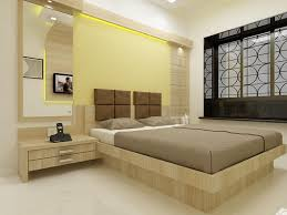 Bedroom Panelling Designs Elegant Bedroom Design With Cool Colors