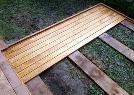 25 best ground level deck ideas on pinterest wood patio simple