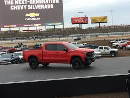 jeep truck 2019 2019 chevrolet silverado revealed via helicopter in texas