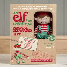 boy christmas elf toy and magical reward kit by big little toys
