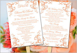 booklet wedding programs how to design wedding program template wedding program template