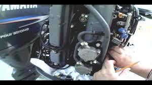 Mercury 25 Hp 2 Stroke Wiring Diagram Outboard Fuel Injectors Youtube