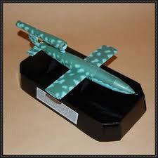 doodlebug flying bomb 1 flying bomb free paper model