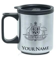 Weird Coffee Mugs by Personalized Stainless Steel Coffee Mug U2013 Philiptsiaras