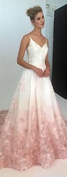 ombre wedding dress blush ombre wedding dress wedding dresses for cheap svesty