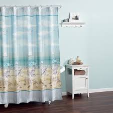 Tropical Beach Shower Curtains by Amazon Com Zenna Home India Ink Seaside Serenity Shower Curtain