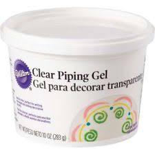 10 oz wilton piping gel glaze icing cake decorating ebay
