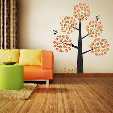 White Tree Wall Decal Nursery by Living Room Enchanting Wall Decal For Nursery Also Elephant