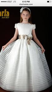1st communion dresses feldy vestido de comunión niña seda italiana especial primera