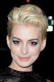sidecut hairstyle women hathaway short hairstyles