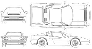 car ferrari drawing car ferrari 328 gtb the photo thumbnail image of figure drawing