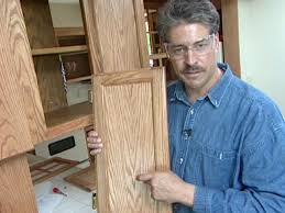 Refurbishing Kitchen Cabinets Yourself How To Reface And Refinish Kitchen Cabinets How Tos Diy
