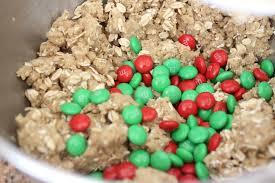 the larson lingo christmas monster cookies