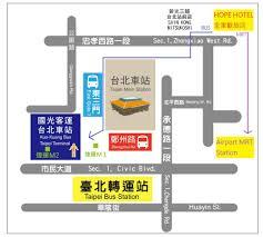 Taipei Mrt Map Hope Hotel Taipei Taiwan Booking Com