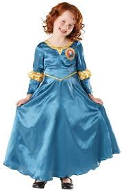 disney brave merida u0027s fancy dress costume ages 3 4 5 6 7 8