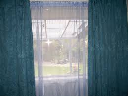 Blue Curtains File Blue Curtains With Violet Sheer Curtains Jpg Wikimedia Commons