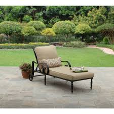 Oasis Outdoor Patio Furniture Better Homes And Gardens Englewood Heights Ii Aluminum Chaise