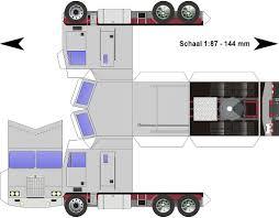 truck paper kenworth free download paper model trucks kenworth k100 cabover grijs