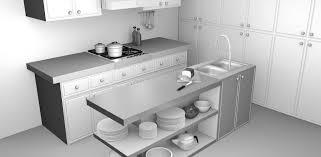 blackspike design ltd blender 3d kitchen model