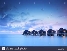 water bungalow stock photos u0026 water bungalow stock images alamy