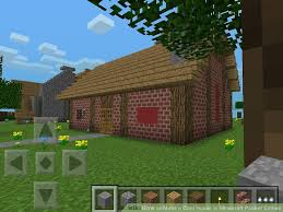 membuat rumah di minecraft how to make a cool house in minecraft pocket edition