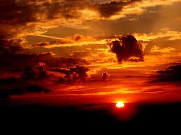 Sunset Orange by Photography Of Sunset Free Stock Photo