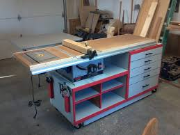 how to build a table saw workstation table saw workstation by ben miller lumberjocks com