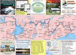 Water Country Map Trent Severn Waterway Maps Details Hours Gps Photos