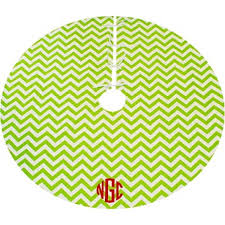 your own monogrammed tree skirt