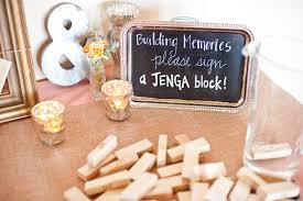 wedding guest book sign jenga wedding guest book albany wedding dj sweet 16 dj reunion