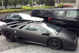 black lamborghini diablo lamborghini diablo sv is matte black in china carnewschina com