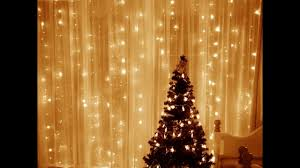 curtain lights review leaf led string curtain lights 9 8 warm white