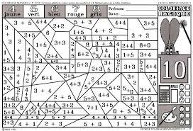 Coloriage Magique Ce1 Maths Coloriage Magique 1055