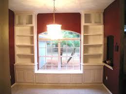 Bookshelf Seat Perfect Window Seat With Bookshelves On Furniture Living Room