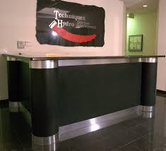 Commercial Reception Desk Tech Reception Desk Commercial Offices Pinterest Reception