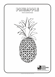 coloring pages cool pineapple coloring page banana 12 pages
