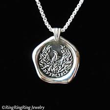 simple silver pendant necklace images Invincible phoenix necklace phoenix pendant sterling silver jpg