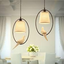 Bird Pendant Light Mediterranean Single Bird Pendant Light Dining Room L Study Bar