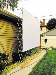 Backyard Projector Backyard Movie Nights More Entertaining With The Right Gadgets