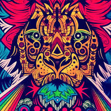 image gallery colorful lion drawing