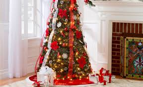 the brown christmas tree brentwood santa christmas lighting and new years decor in