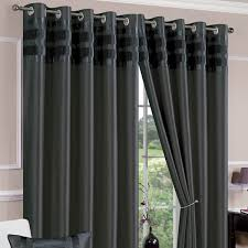 Silk Draperies Ready Made Remarkable Dark Gray Curtains 65 For Target Shower Curtains With