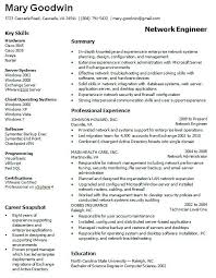 Admin Resume Template It Administrator Resume Sample 2 Junior Network Administrator