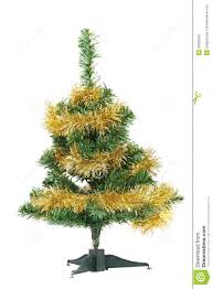 christmas tree wrapped in tinsel royalty free stock photo image