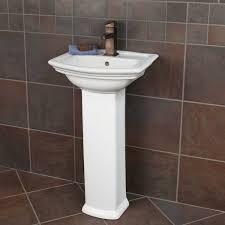 Porcelain Pedestal Sink Mini Washington Porcelain Pedestal Sink Single Hole Pedestal