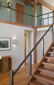Interior Railings And Banisters Piedmont Stairworks Interior Or Exterior Cable Railing